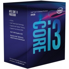 Procesor INTEL Core i3 8100 3,6GHz LGA1151 BOX