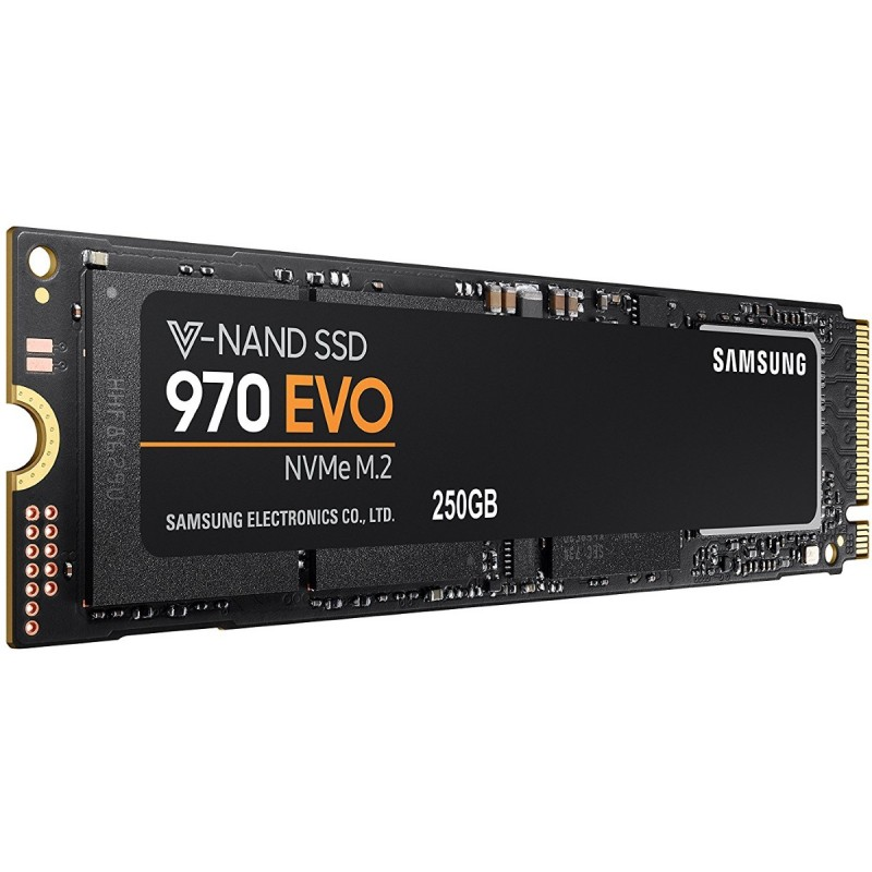 SSD Pogon SAMSUNG 970 EVO MZ-V7E250BW 250GB m.2 PCI-e 3.0 x4 NVMe 80mm