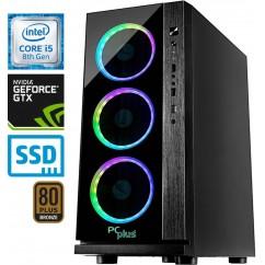 Računalnik PCPLUS Gamer i5-8400 GTX1060-6 16/240 SSD