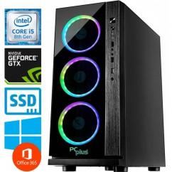 Računalnik PCPLUS Gamer i5-8400 GTX1060-6 16/240 SSD WIN