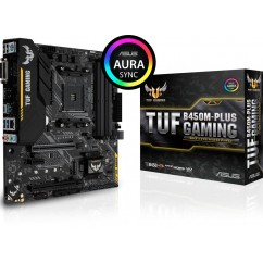 Matična Plošča ASUS TUF B450M-PLUS GAMING DDR4 AM4 mATX