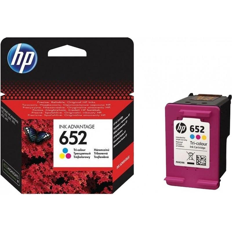 Kartuša HP 652 (F6V24AE) barvna