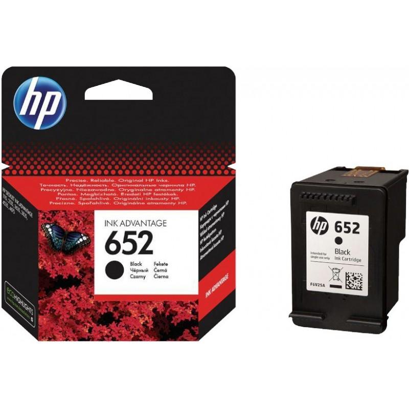 Kartuša HP 652 (F6V25AE) črna