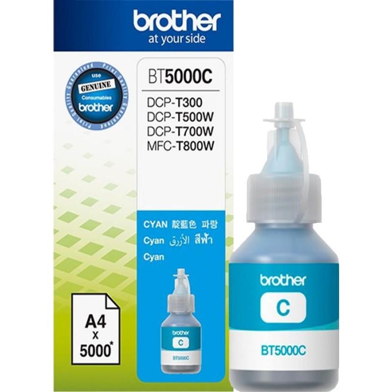 Črnilo Brother Cyan (BT5000C) steklenička
