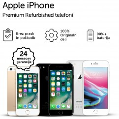 Pametni Telefon APPLE iPhone 7 Plus 128GB (Jet Black) (R&R)