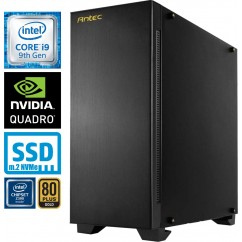 Računalnik MEGA 9000 Workstation i9-9900KF 5SSD64 2T Quadro RTX5000