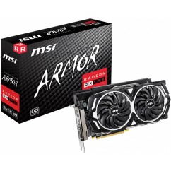 Grafična Kartica MSI Radeon RX590 Armor OC 8GB GDDR5 (MSIVG-RX590)