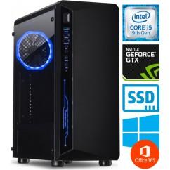 Računalnik PCPLUS Gamer i5-9400F 2SSD16 1TB GTX1660Ti WIN+O365