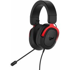 Slušalke ASUS TUF Gaming H3, rdeče (VOIASU030)