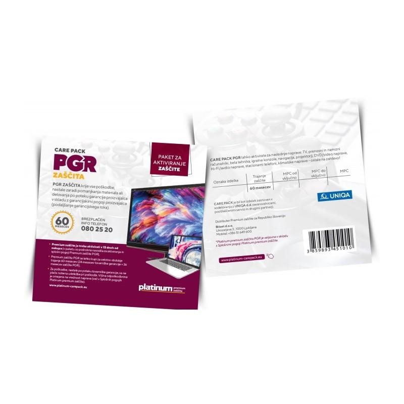 Platinum PREMIUM zaščita PGR Care Pack - 5 let PGR20060 (251 - 500 EUR)
