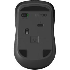 Miška RAPOO 6610M 2.4GHz, Bluetooth, Črna