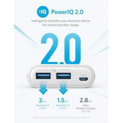 PowerBank ANKER PowerCore II 20.000mAh (A1260), bel