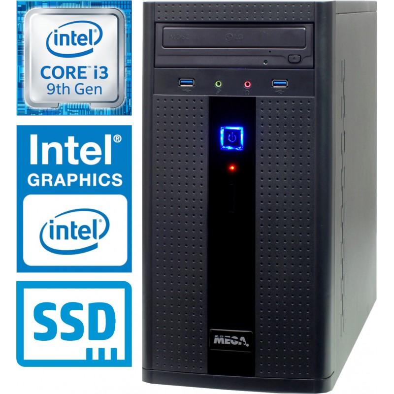 Računalnik MEGA 2000 i3-9100 2SSD8 2T