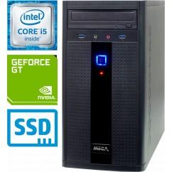 Računalnik MEGA 2000 i5-9400F 5SSD8 GT710