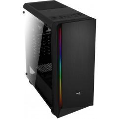 Ohišje Aerocool RIFT, ATX, RGB (črno)