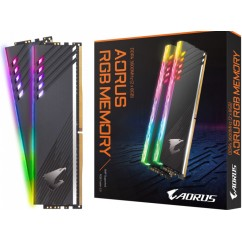 Pomnilnik (RAM) DDR4 GIGABYTE Aorus RGB Kit 16GB (2x 8GB) 3600MHz