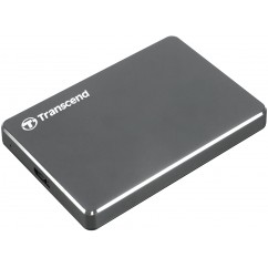 "2,5"" Zunanji Trdi Disk TRANSCEND EXT 25C3N 2TB USB 3.1/3.0, siv"