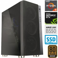Računalnik MEGA 6000Y Ryzen 5 3600 5SSD16 2T GTX1650 SUPER
