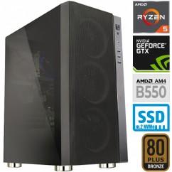 Računalnik MEGA 6000Y Ryzen 5 3400G 5SSD8 VEGA11