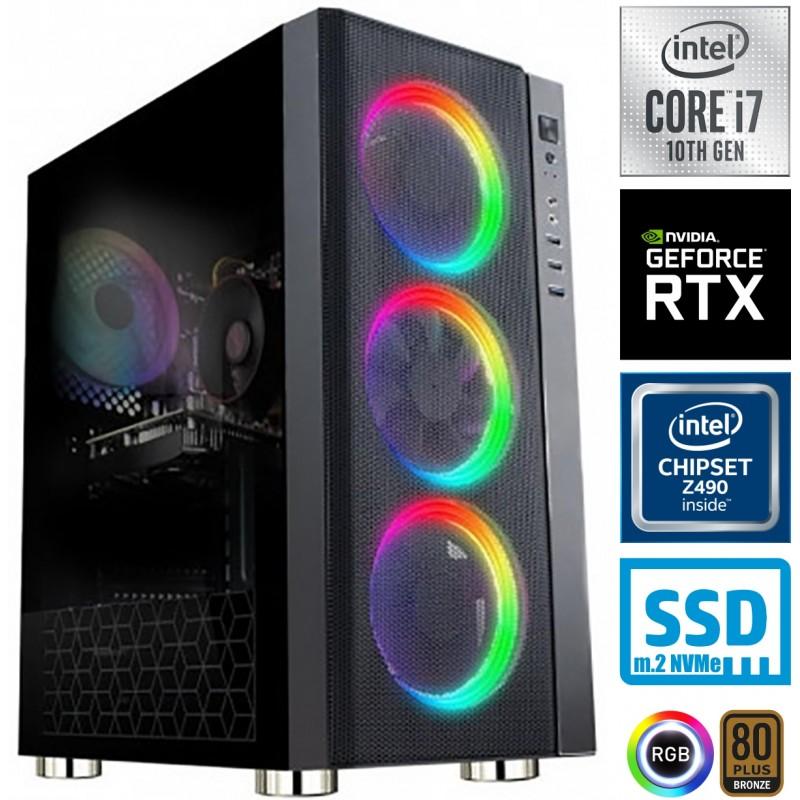 Računalnik MEGA 6000Y i7-10700KF 5SSD16 2T RTX 3060 12GB