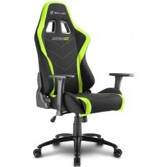 Gamerski stol SHARKOON SKILLER SGS2 (141545) črno/zelen