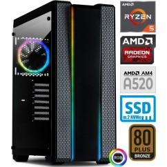 Računalnik PCPLUS GAMER Ryzen 5 5600X 5SSD16 1T RX 6700XT 12G WIN+Office