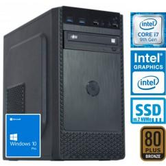Računalnik MEGA 4000B Business i7-9700 5SSD16 DVD W10PRO
