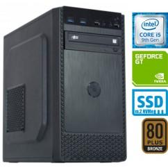 Računalnik MEGA 4000B Business i5-9400F 2SSD8 GT710 DVD