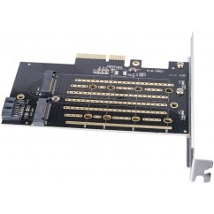 Adapter SSD ORICO PDM2, M.2 NVMe v PCIe 3.0 x4