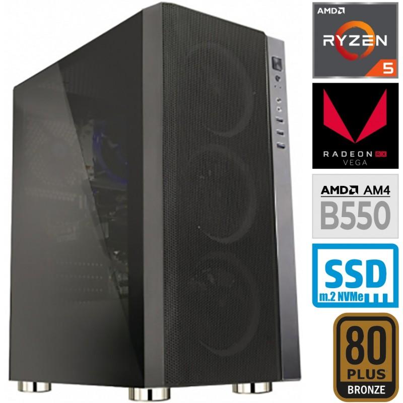 Računalnik MEGA 6000Y Ryzen 5 5600G 5SSD16 VEGA 7