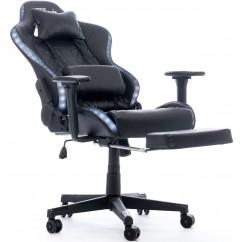 Gamerski stol BYTEZONE Cobra (BZ5943B), črn
