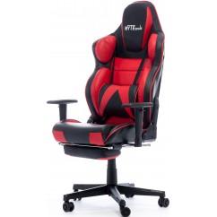 Gamerski stol BYTEZONE Hulk (BZ5963R), črno/rdeč