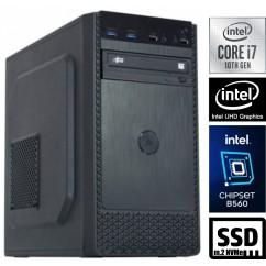Računalnik MEGA 4000B Business i7-10700 5SSD16 DVD
