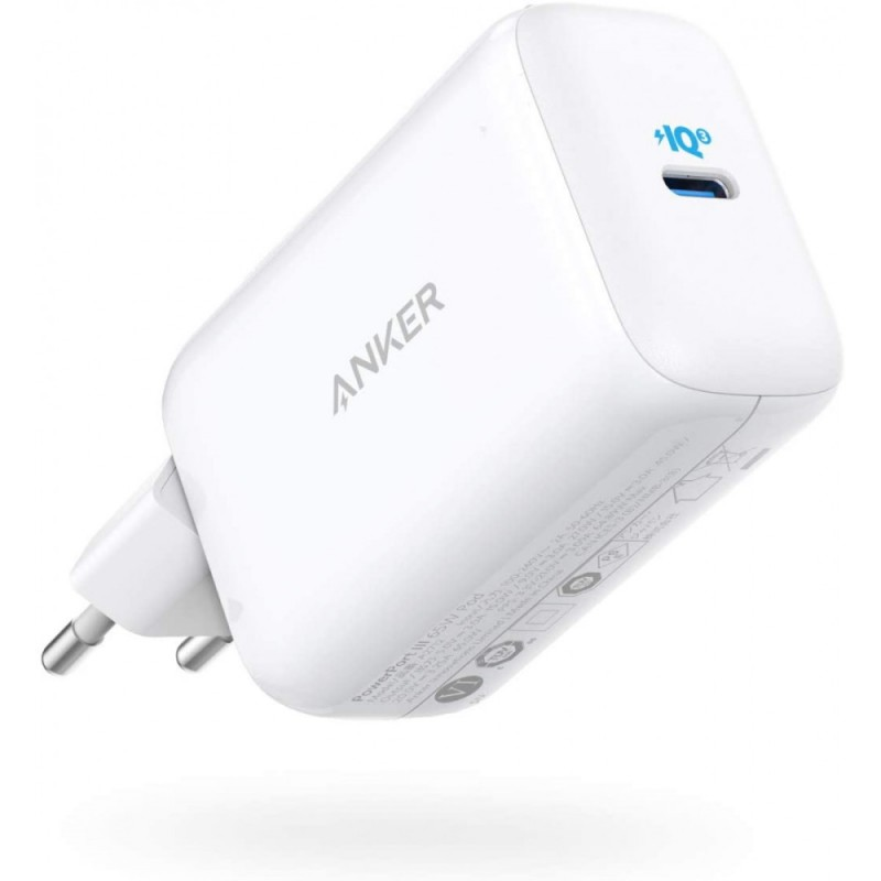 Polnilec Potovalni za Prenosnik, iPhone Anker PowerPort III 65W (A2712H21)